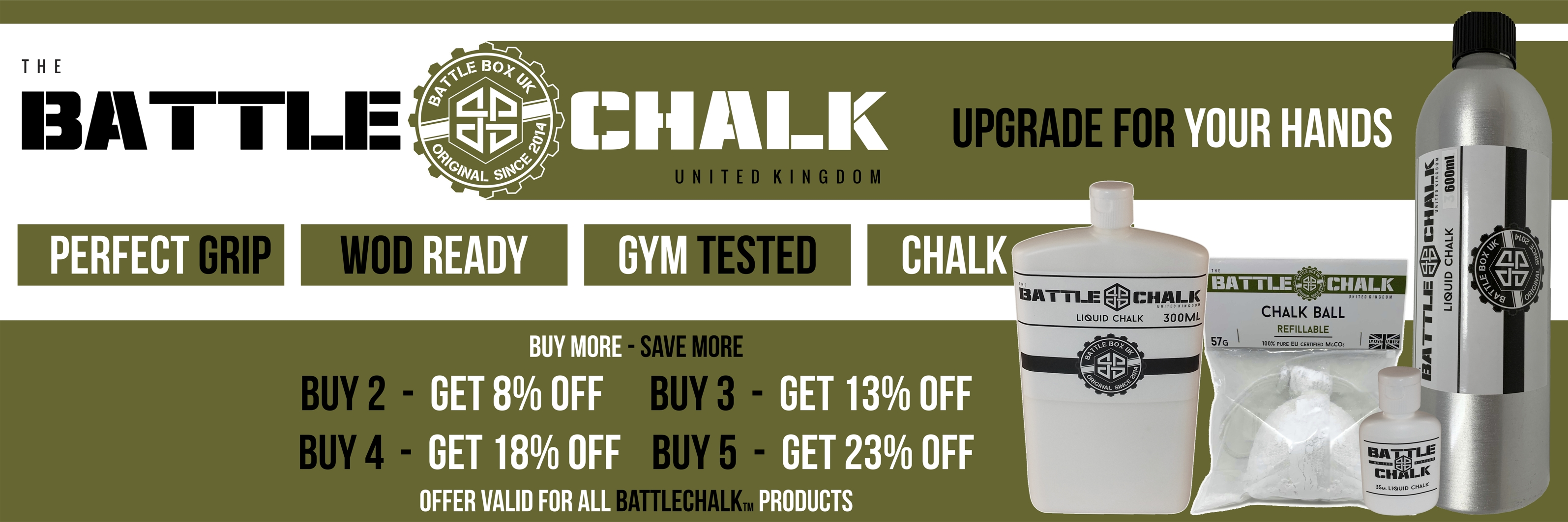 Battle Chalk Liquid Balls